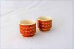 HORNSEA SAFFRON / Egg Stand 2 pieces SET