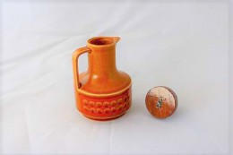 HORNSEA SAFFRON / Oil (Vinegar) Jug (Vinegar木蓋付き)