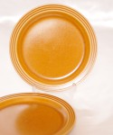 HORNSEA SAFFRON / Cake Plate 2 pieces SET