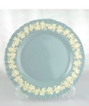 WEDGWOOD EMBOSSED QUEEN'S WARE / Dinner Plate