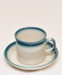 WEDGWOOD Blue Pacific / Cup & Saucer