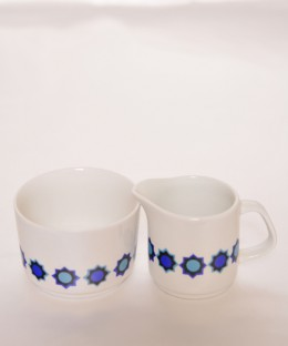 J&G Meakin Cadiz / Milk Jug & Sugar Pot SET