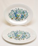 ROYAL DOULTON / Ovel Plate 2 Pieces SET スクラッチ有り