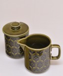 HORNSEA HEIRLOOM / Milk Jug & Sugar Bowl(蓋付) SET