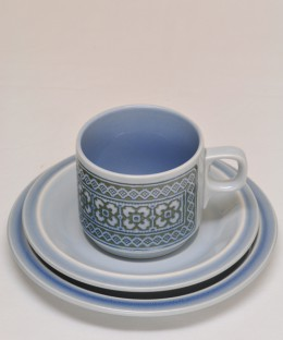 HORNSEA TAPESTRY / TRIO (Cup, Saucer & Plate)